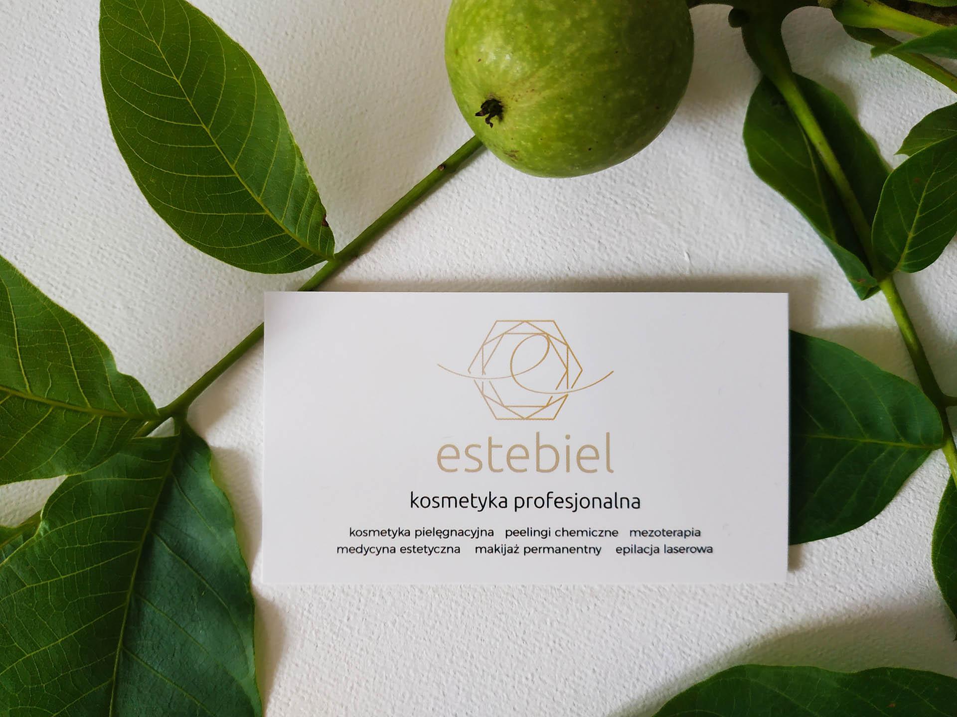 Estebiel - kosmetyka profesjonalna - wizytówka