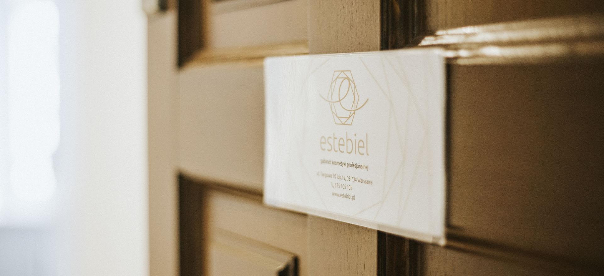 Wizytówka - Estebiel - gabinet kosmetyki